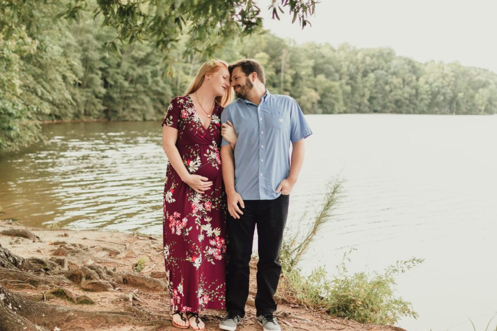 4 locations in the Triad for maternity photos. Brooke Grogan Photography.