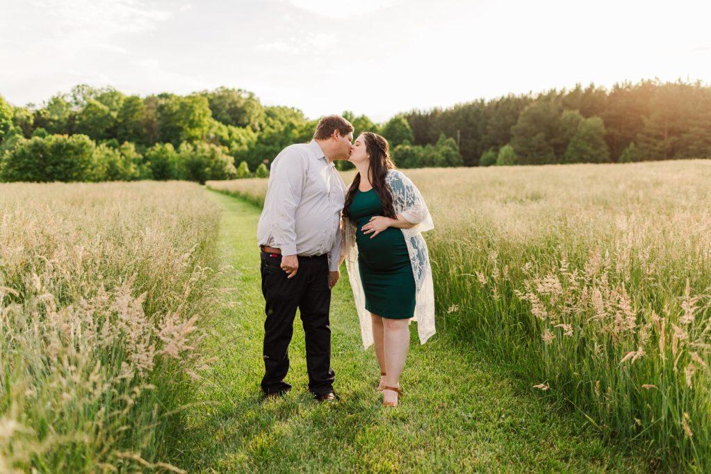 Golden hour photos in Summerfield, NC with Brooke Grogan Photography.