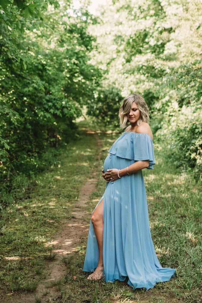 When do you have maternity photos taken? Brooke Grogan Photography.