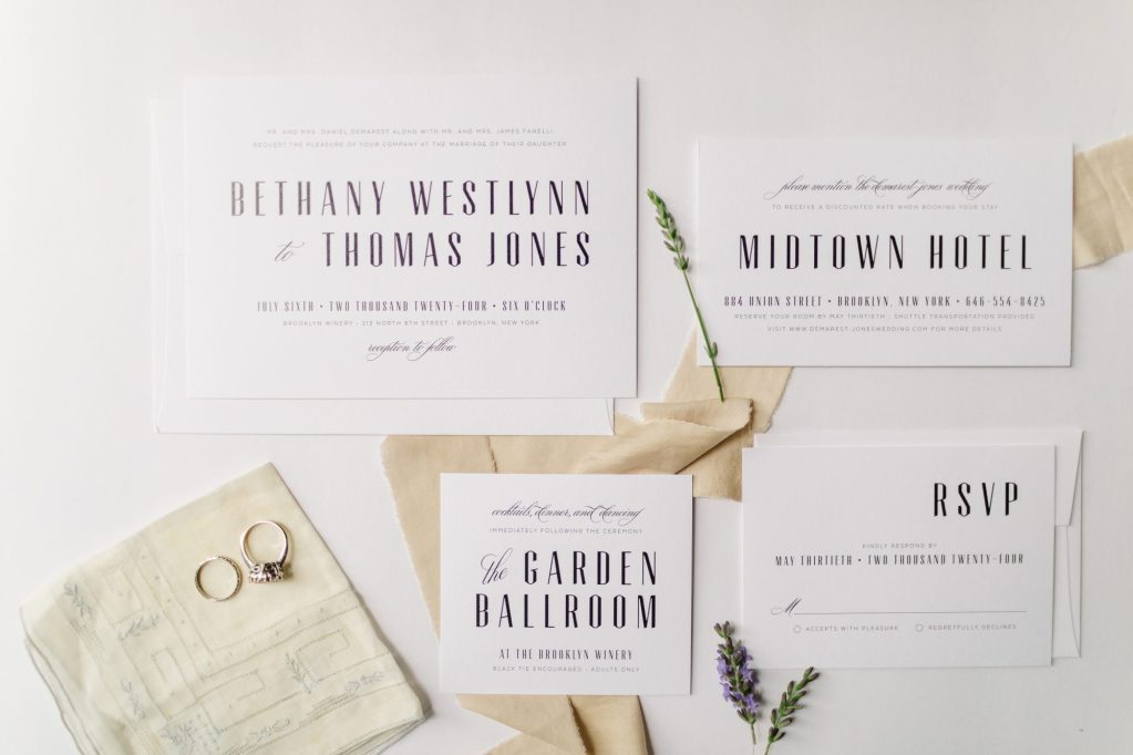 Picking out wedding invites. Brooke Grogan Photography.