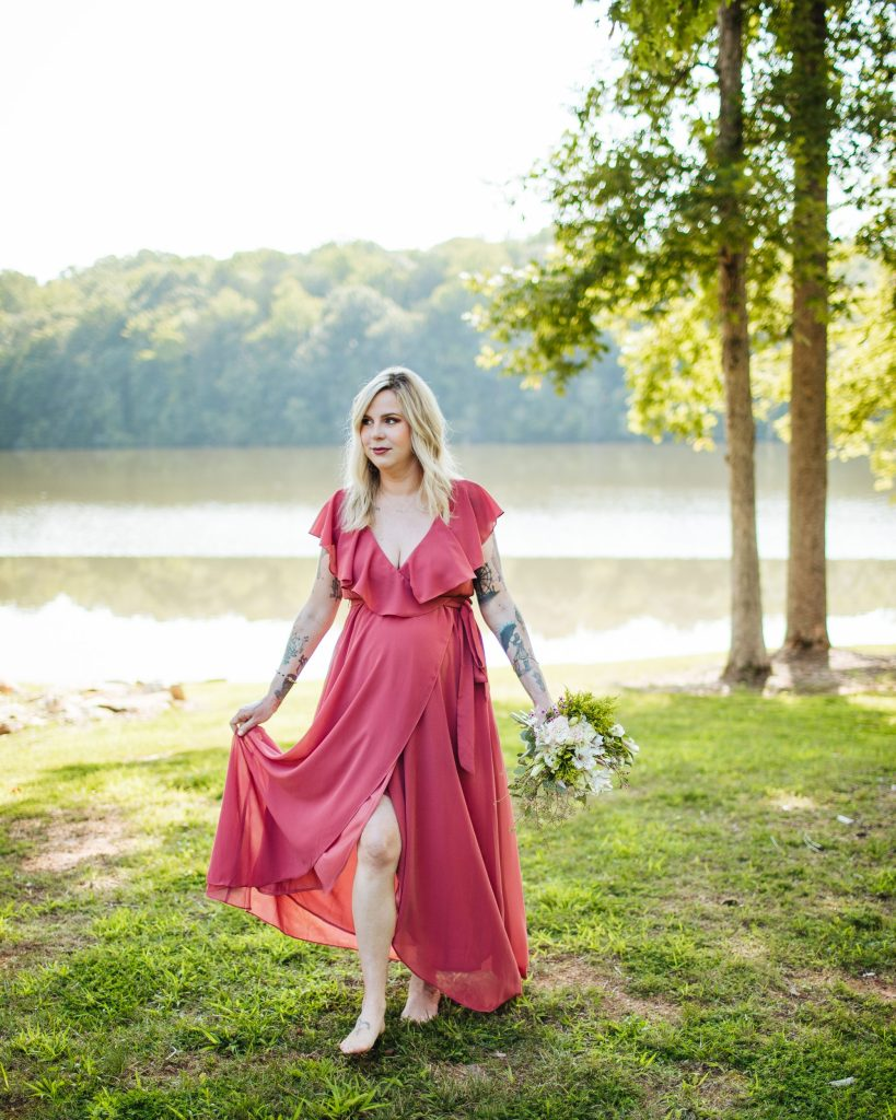 Maternity photos with Brooke Grogan Photography in North Carolina.