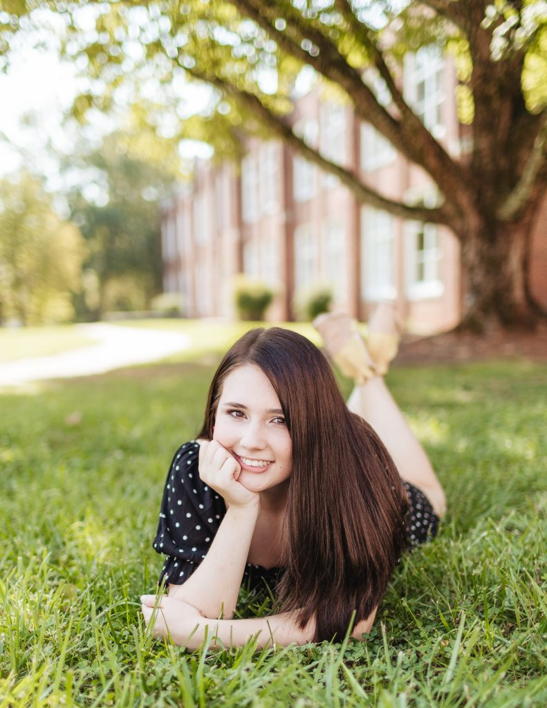 Senior pictures in Greensboro, North Carolina with Brooke Grogan Photography.