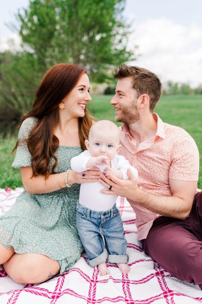 Family photos by Brooke Grogan Photography in North Carolina.