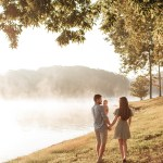 Take a look at these lakeside family photos in Belews Creek, NC. Brooke Grogan Photography